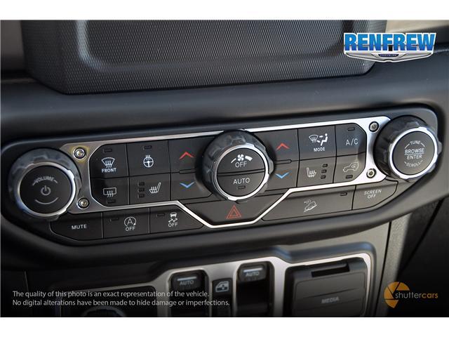 2019 Jeep Wrangler Unlimited Sport (Stk: K212) in Renfrew - Image 17 of 20