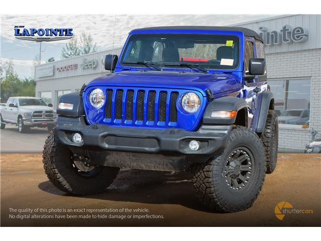 2019 Jeep Wrangler Sport (Stk: 19264) in Pembroke - Image 1 of 20