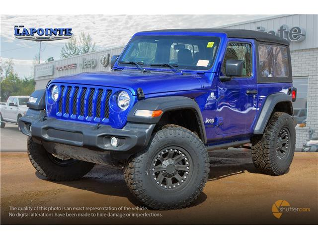 2019 Jeep Wrangler Sport (Stk: 19264) in Pembroke - Image 2 of 20