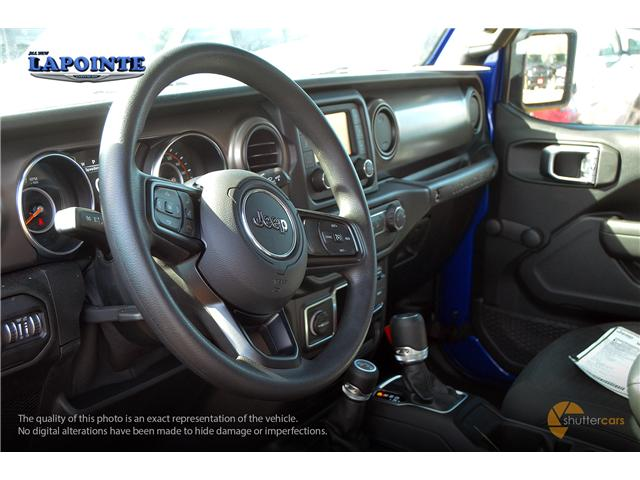 2019 Jeep Wrangler Sport (Stk: 19264) in Pembroke - Image 9 of 20