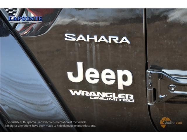 2019 Jeep Wrangler Unlimited Sahara (Stk: 19278) in Pembroke - Image 6 of 20