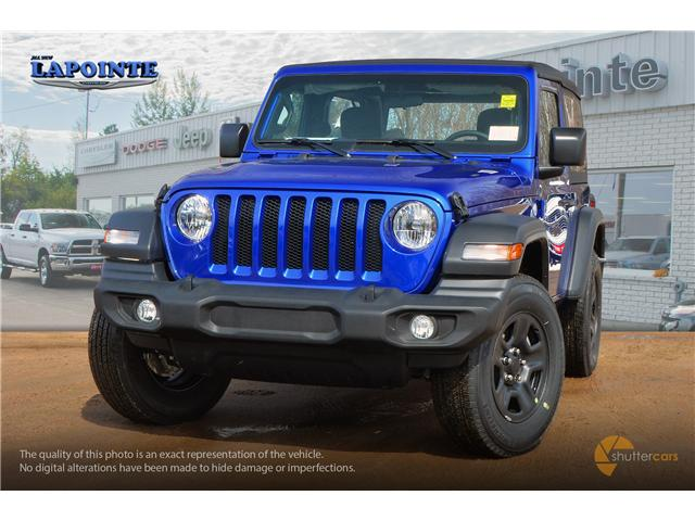 2019 Jeep Wrangler Sport (Stk: 19283) in Pembroke - Image 1 of 20