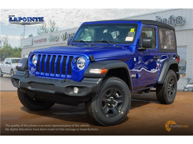 2019 Jeep Wrangler Sport (Stk: 19283) in Pembroke - Image 2 of 20