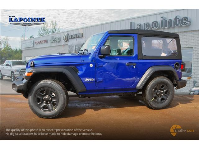 2019 Jeep Wrangler Sport (Stk: 19283) in Pembroke - Image 3 of 20