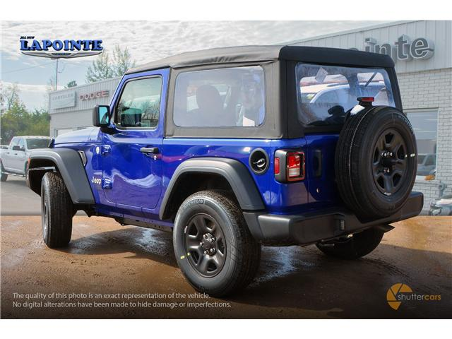 2019 Jeep Wrangler Sport (Stk: 19283) in Pembroke - Image 4 of 20