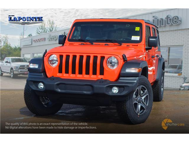 2019 Jeep Wrangler Unlimited Sport (Stk: 19293) in Pembroke - Image 1 of 20