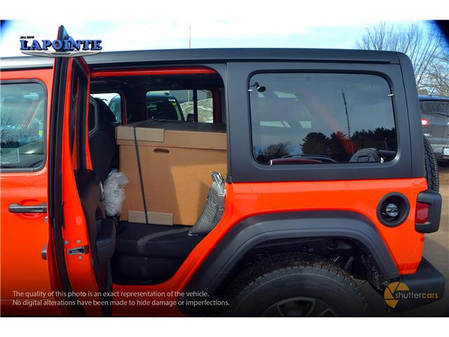 2019 Jeep Wrangler Unlimited Sport (Stk: 19293) in Pembroke - Image 9 of 20