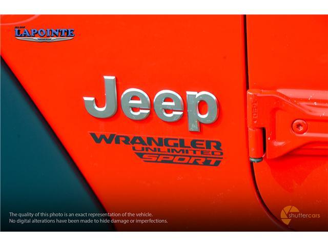 2019 Jeep Wrangler Unlimited Sport (Stk: 19297) in Pembroke - Image 6 of 20
