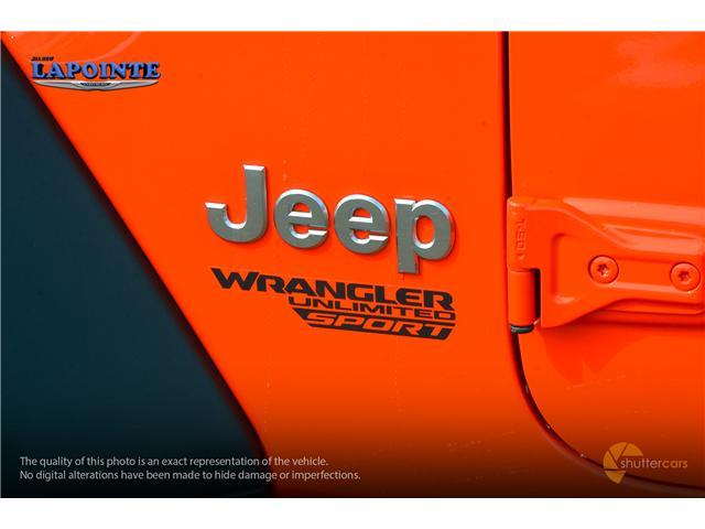 2019 Jeep Wrangler Unlimited Sport (Stk: 19300) in Pembroke - Image 6 of 20