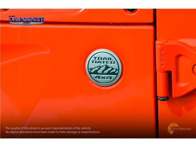 2019 Jeep Wrangler Unlimited Sport (Stk: 19300) in Pembroke - Image 7 of 20