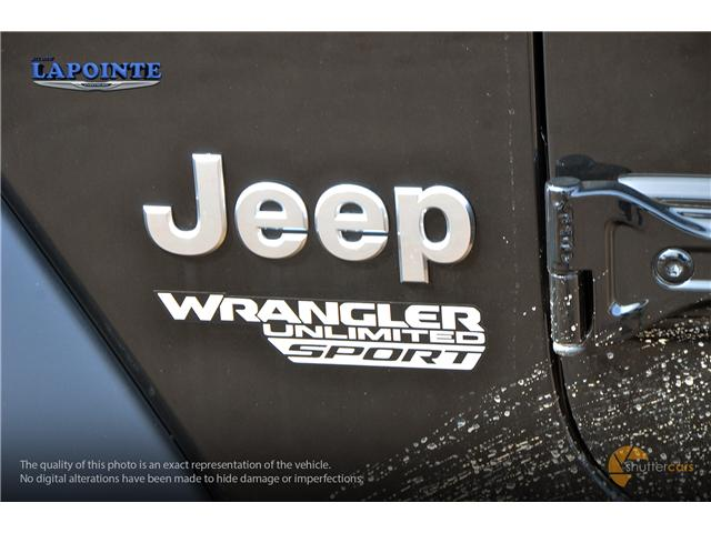 2019 Jeep Wrangler Unlimited Sport (Stk: 19306) in Pembroke - Image 6 of 20