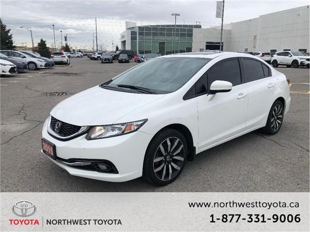 2015 Honda Civic Touring (Stk: 014493T) in Brampton - Image 1 of 15