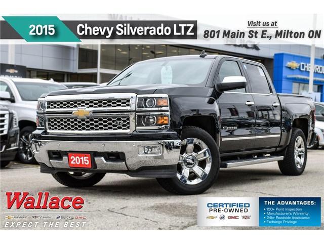 2015 Chevrolet Silverado 1500 LTZ/20s/SUNRF/TRLR PKG/NAV/HTD&CLD LTHR STS/G80 (Stk: PL5192) in Milton - Image 1 of 28