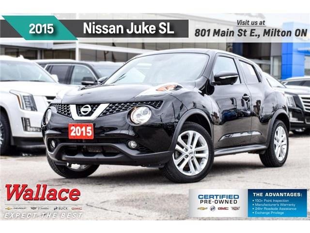 2015 Nissan Juke SL/SUNRF/HTD LTHR SEATS/NAV/7-SPKR/KEYLESS/LOADED! (Stk: 113832A) in Milton - Image 1 of 30