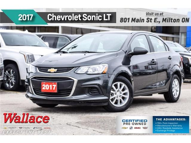 2017 Chevrolet Sonic LT/HTD SEATS/BACKUP CAM/RMTE STRT/7-INCH SCRN (Stk: PR5057) in Milton - Image 1 of 26