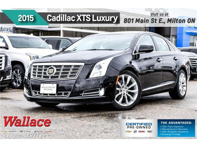 2015 Cadillac XTS Luxury/HTD F&R STS/HTD WHL/NAV/RAIN SNSE WPRS (Stk: PL5204) in Milton - Image 1 of 28