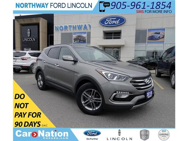 2018 Hyundai Santa Fe Sport SE | AWD | PWR HTD LEATHER | PANO ROOF | (Stk: DR124) in Brantford - Image 1 of 41