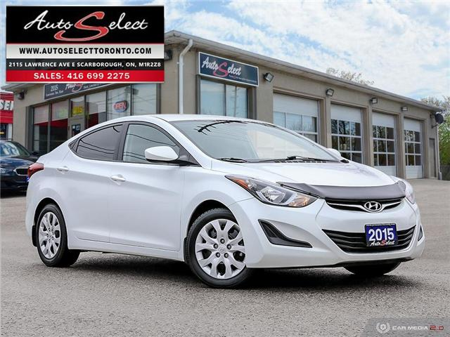 2015 Hyundai Elantra  (Stk: 1WGL727) in Scarborough - Image 1 of 28