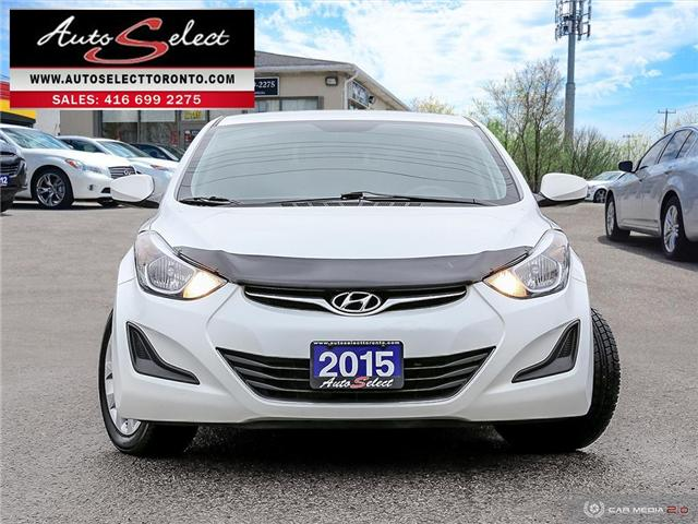 2015 Hyundai Elantra  (Stk: 1WGL727) in Scarborough - Image 2 of 28