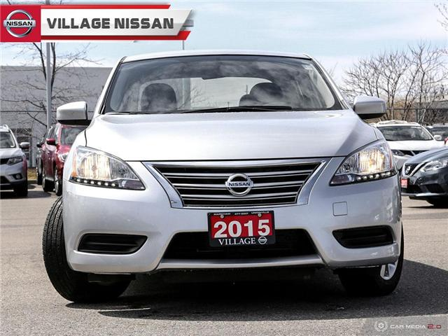 2015 Nissan Sentra 1.8 SV (Stk: 90398A) in Unionville - Image 2 of 27