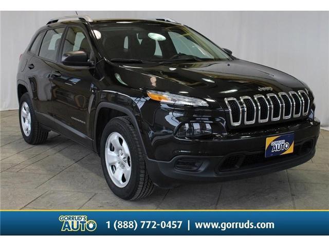 2016 Jeep Cherokee Sport (Stk: 378215) in Milton - Image 1 of 43