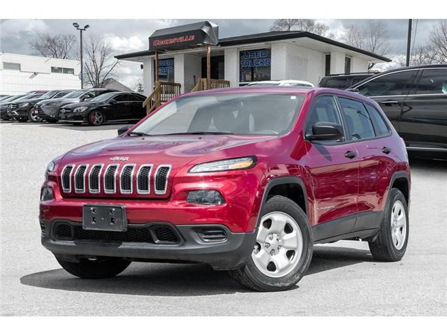 2017 Jeep Cherokee Sport (Stk: 324173T) in Mississauga - Image 1 of 18