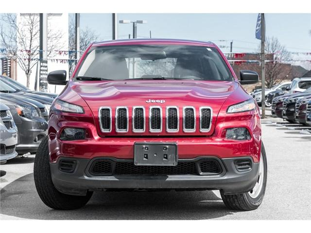2017 Jeep Cherokee Sport (Stk: 324173T) in Mississauga - Image 2 of 18
