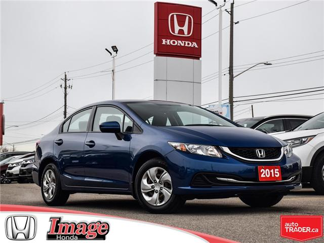 2015 Honda Civic LX (Stk: 9C431A) in Hamilton - Image 1 of 18