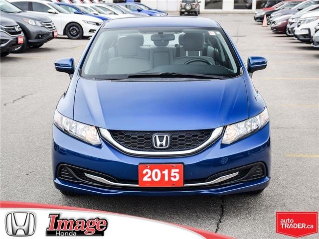 2015 Honda Civic LX (Stk: 9C431A) in Hamilton - Image 2 of 18