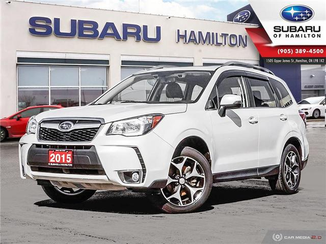 2015 Subaru Forester 2.0XT Limited Package (Stk: U1425) in Hamilton - Image 1 of 26