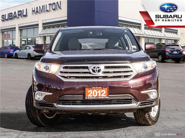 2012 Toyota Highlander V6 (Stk: S7583A) in Hamilton - Image 2 of 24