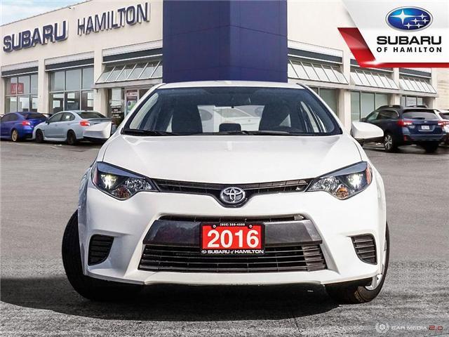 2016 Toyota Corolla LE (Stk: S7282B) in Hamilton - Image 2 of 25