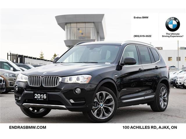 2016 BMW X3 xDrive28d (Stk: 35394B) in Ajax - Image 1 of 22