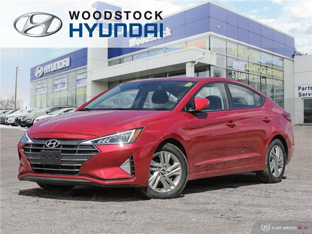 2019 Hyundai Elantra Preferred (Stk: HD19009) in Woodstock - Image 1 of 27