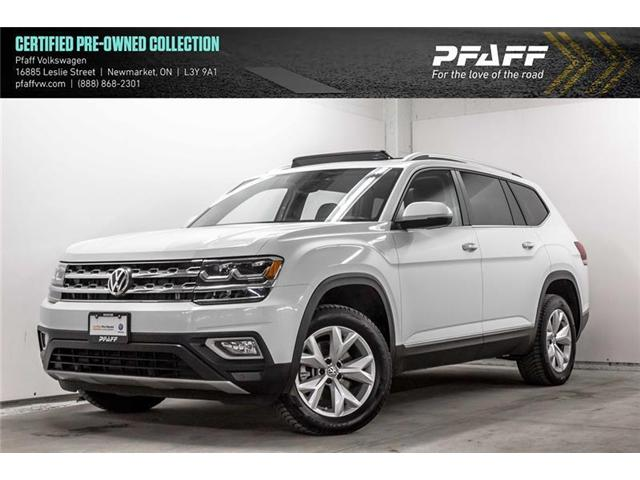 2018 Volkswagen Atlas 3.6 FSI Highline (Stk: V3370) in Newmarket - Image 1 of 22