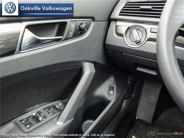 2018 Volkswagen Passat 2.0 TSI Comfortline (Stk: 20242) in Oakville - Image 16 of 23
