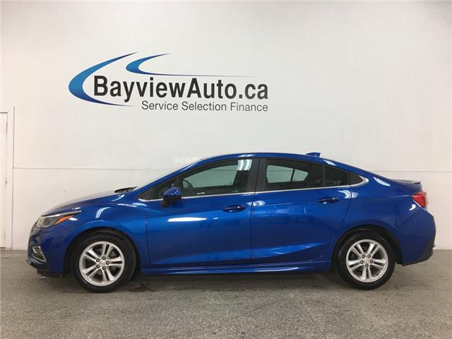2018 Chevrolet Cruze LT Auto (Stk: 34678W) in Belleville - Image 1 of 26