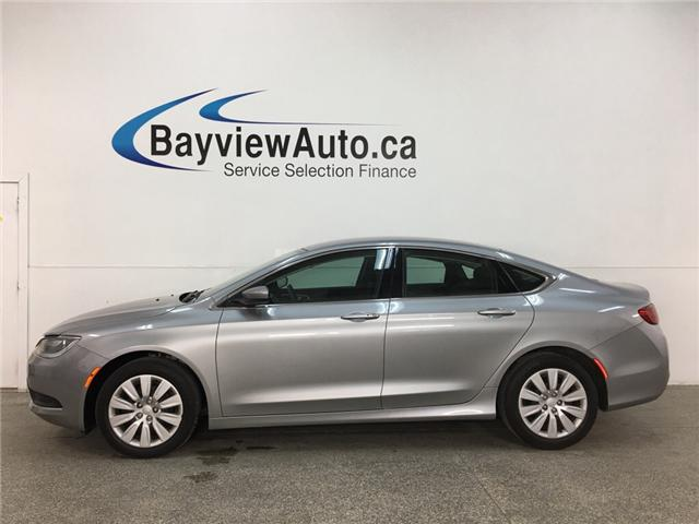 2016 Chrysler 200 LX (Stk: 33750BWA) in Belleville - Image 1 of 24