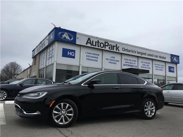 2015 Chrysler 200 C (Stk: 15-15929) in Brampton - Image 1 of 26