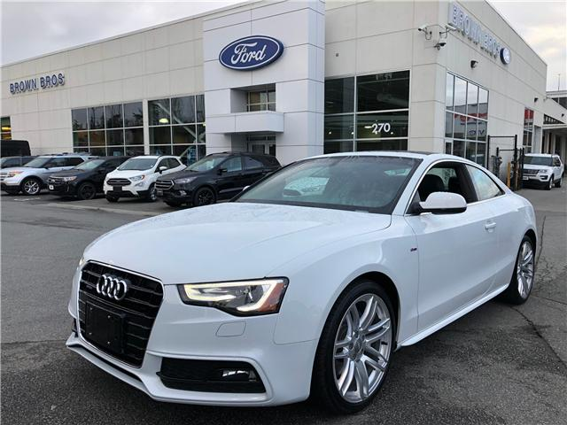 2015 Audi A5 2.0T Technik (Stk: 186855A) in Vancouver - Image 1 of 22