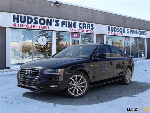 2015 Audi A4 2.0T Progressiv plus (Stk: 14499) in Toronto - Image 1 of 30