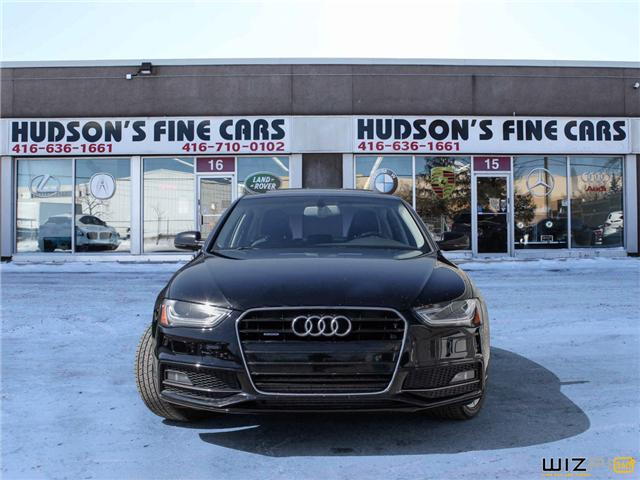 2015 Audi A4 2.0T Progressiv plus (Stk: 14499) in Toronto - Image 2 of 30
