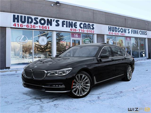 2016 BMW 750 Li xDrive (Stk: 18938) in Toronto - Image 1 of 30
