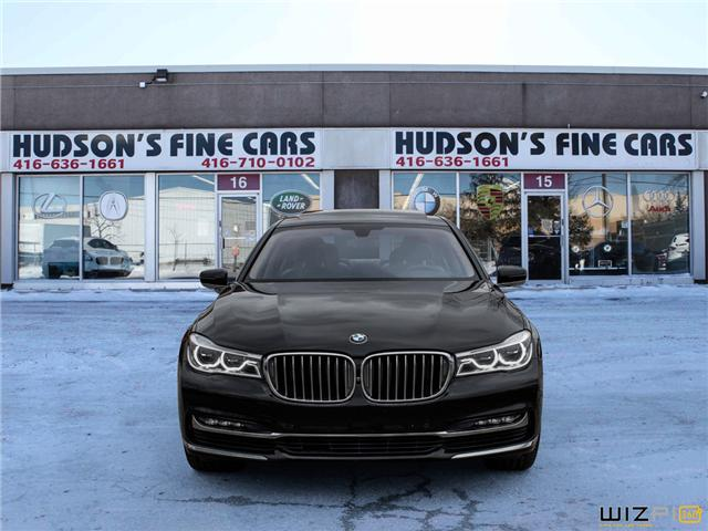 2016 BMW 750 Li xDrive (Stk: 18938) in Toronto - Image 2 of 30