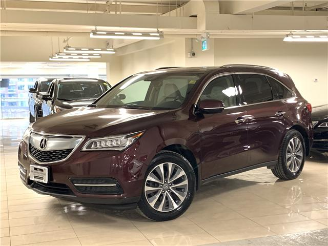 2016 Acura MDX Navigation Package (Stk: M12286A) in Toronto - Image 1 of 31
