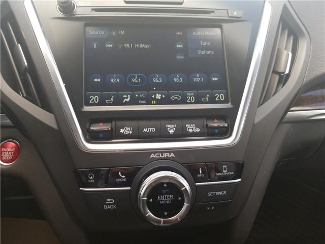 2018 Acura MDX Navigation Package (Stk: A3984) in Saskatoon - Image 11 of 20