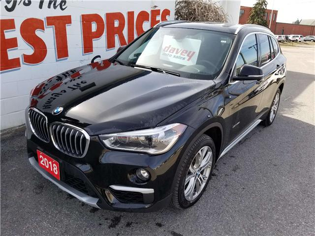 2018 BMW X1 xDrive28i (Stk: 18-580) in Oshawa - Image 1 of 16