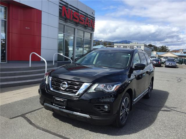 2019 Nissan Pathfinder Platinum (Stk: N96-4557) in Chilliwack - Image 1 of 21