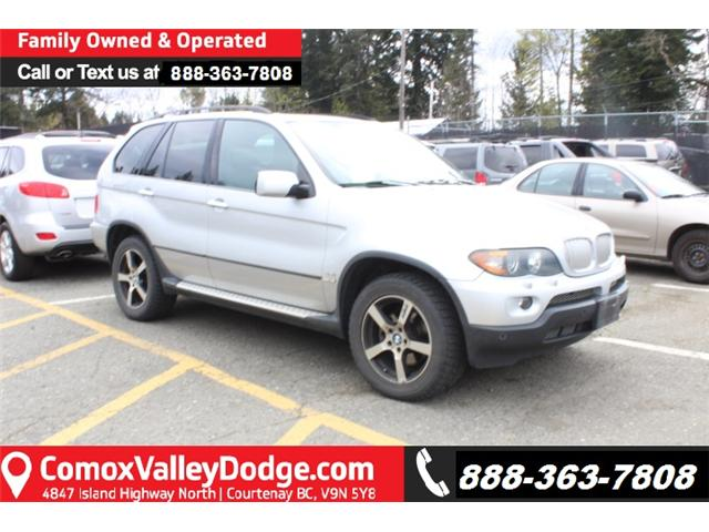 2005 BMW X5 4.4i (Stk: D153311B) in Courtenay - Image 1 of 3