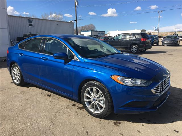 2017 Ford Fusion SE (Stk: 8U066) in Wilkie - Image 1 of 22
